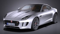3d model f-type s coupe