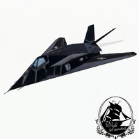 lockheed f-117 nighthawk 3d model