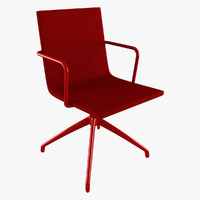 chair basso office 3d model