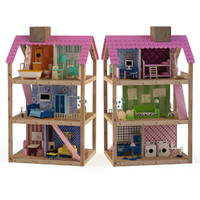 house doll dollhouse 3d max