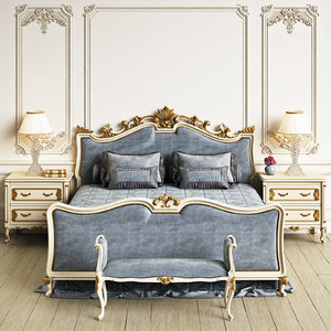 angelo cappellini wagner bedroom 3d max