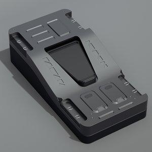 sci-fi crate obj