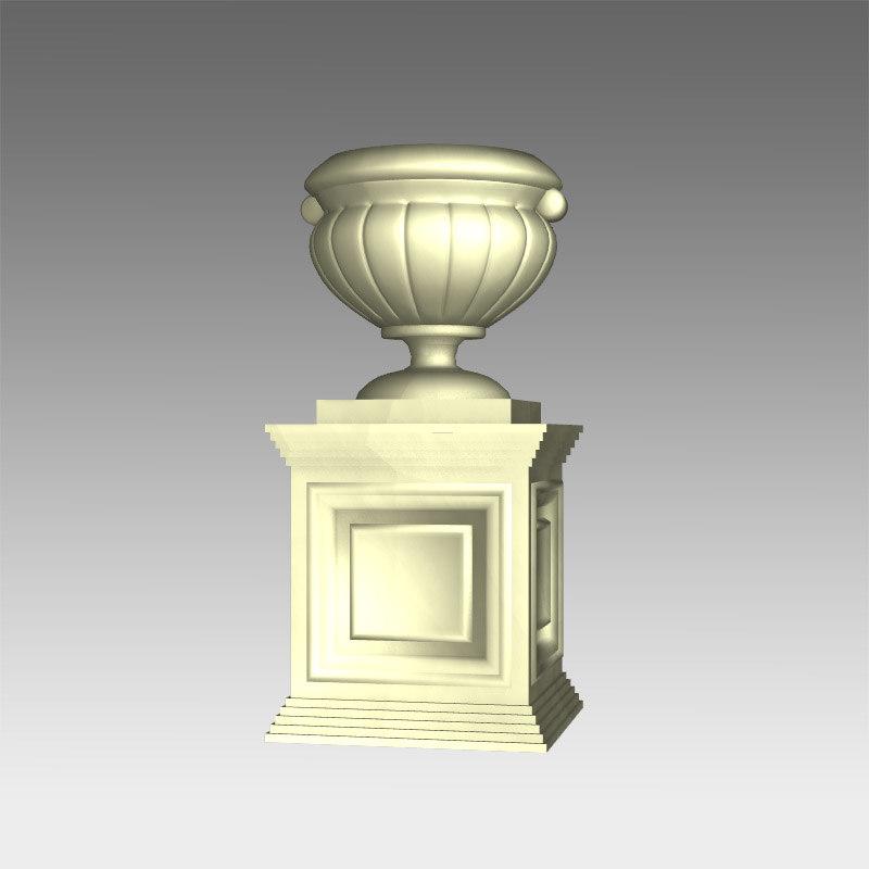 classic vase dxf