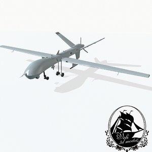 3d model general mq-9 reaper