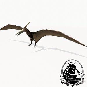 pteranodon pterosaurs flying max