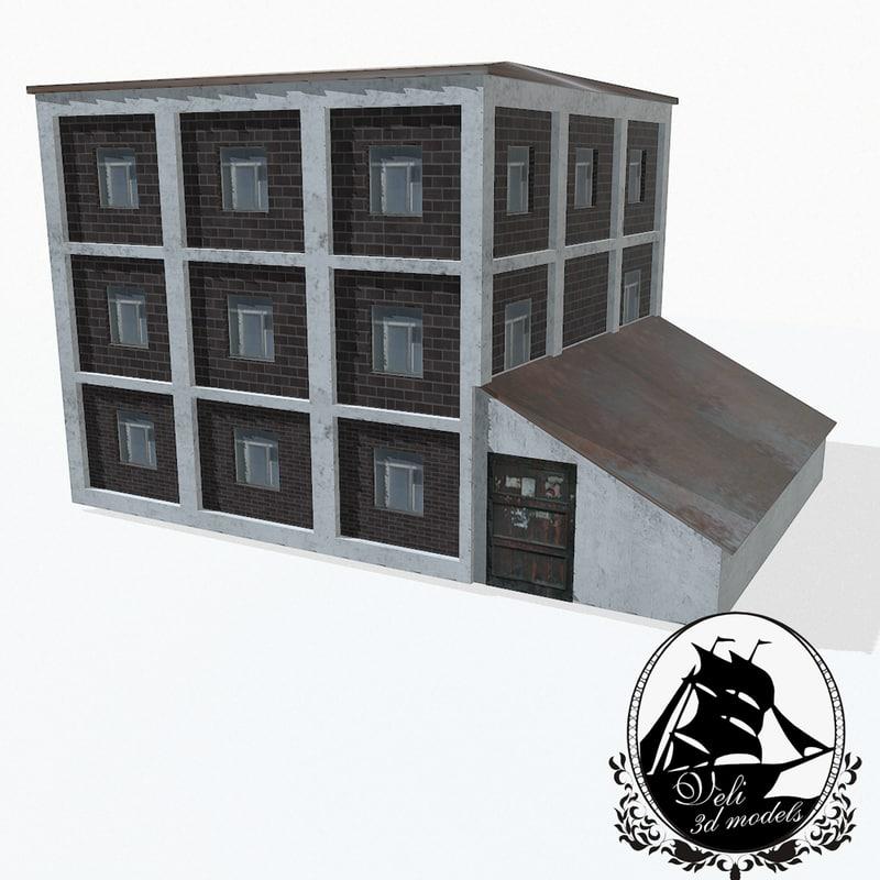 street house 3d max
