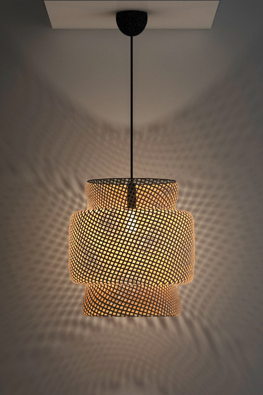 3d ikea sinnerlig pendant light model