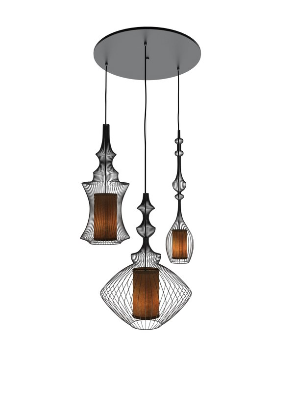 3d model pendants light lamp