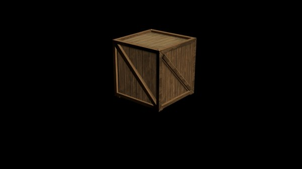 free max mode simple storage crate