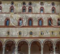 castle sforzesco facade