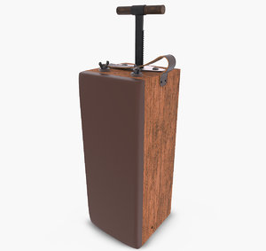 3d detonator using model