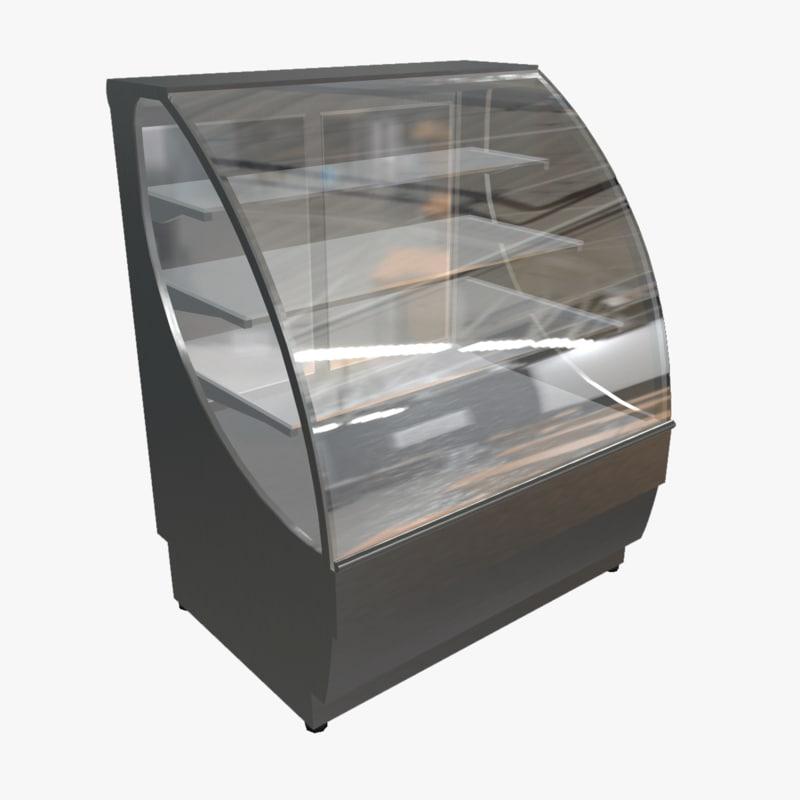 3d model pastry case