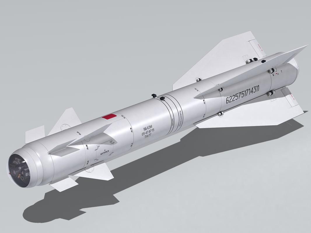kh-29 kh-29t h-29 3d model