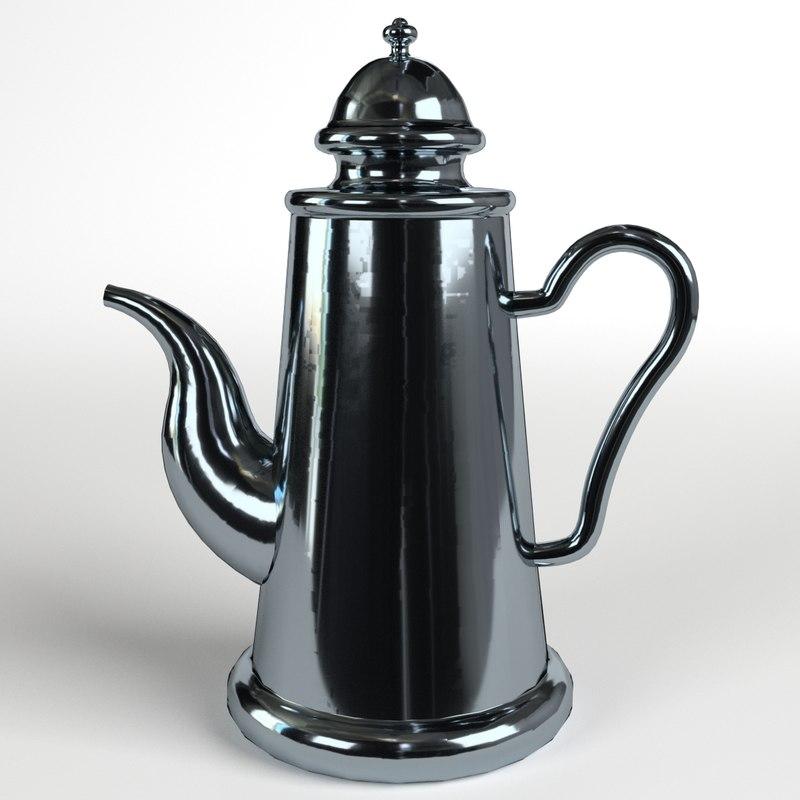 3d teapot 1 model
