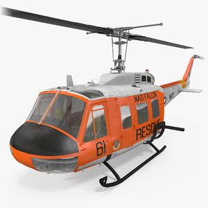 3d navy bell uh-1 iroquois model