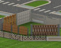 fence protection c4d