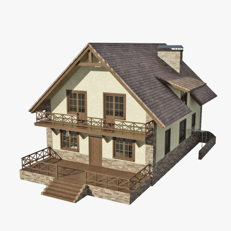 3ds cottage