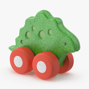 baby-push-and-pull-animals---stegosaurus 3d model