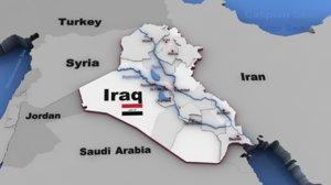 iraq elections beveled 3d max