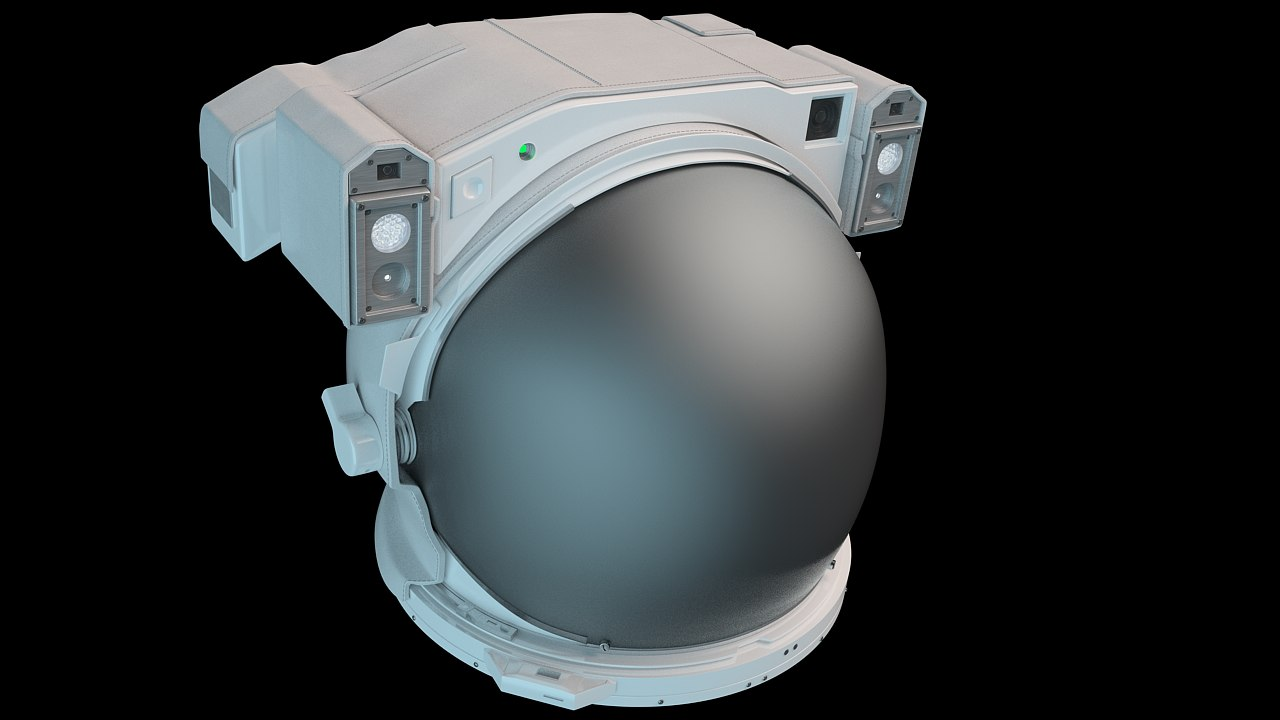 3d model space helmet