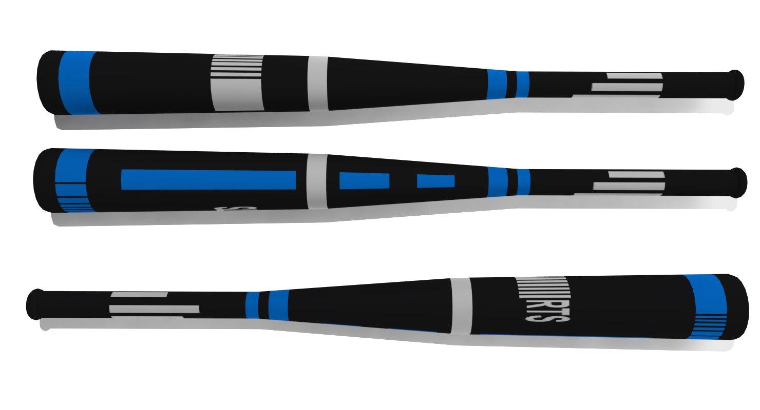 baseball bat 3d fbx