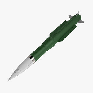 3d model buk missile