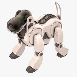 aibo dog sony max