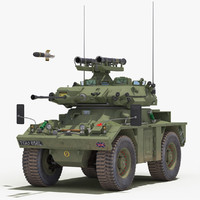 3d fv721 fox green model