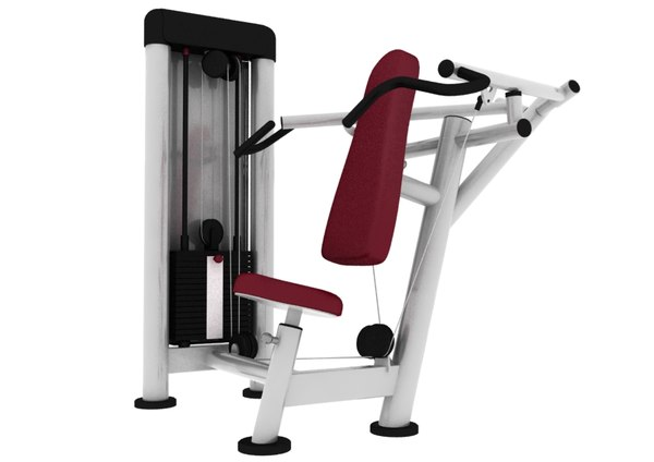 fitness gym 3d max