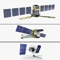 satellite smos chandra 3d 3ds
