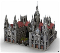Gothic Cathedral V1