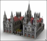 3d model church