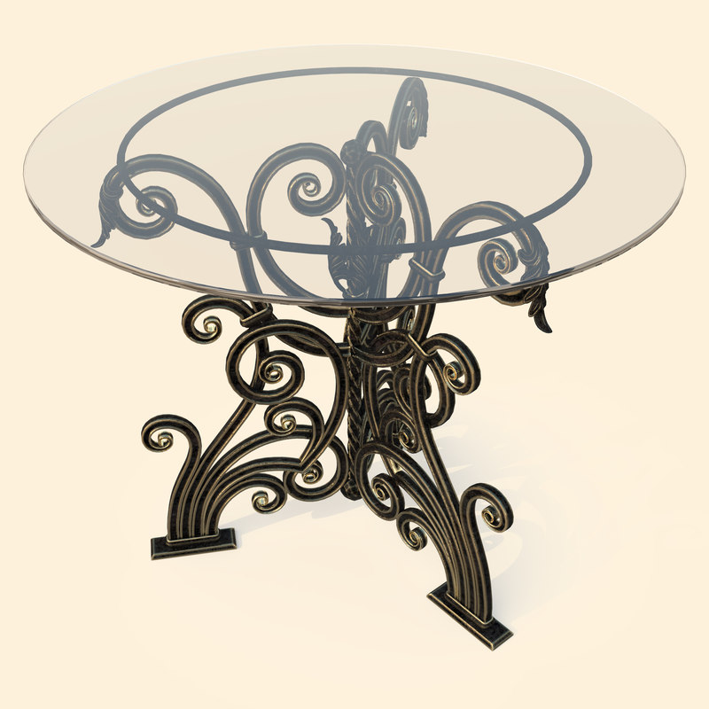 max forged table