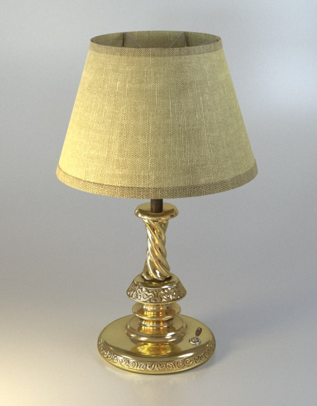 golden table lamp max