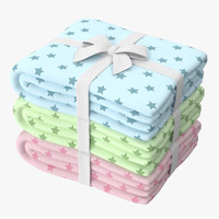 baby blankets 02 01 3d max
