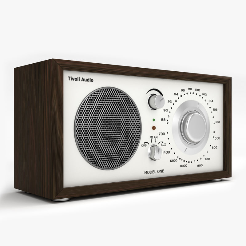 kitchen radio 3d model