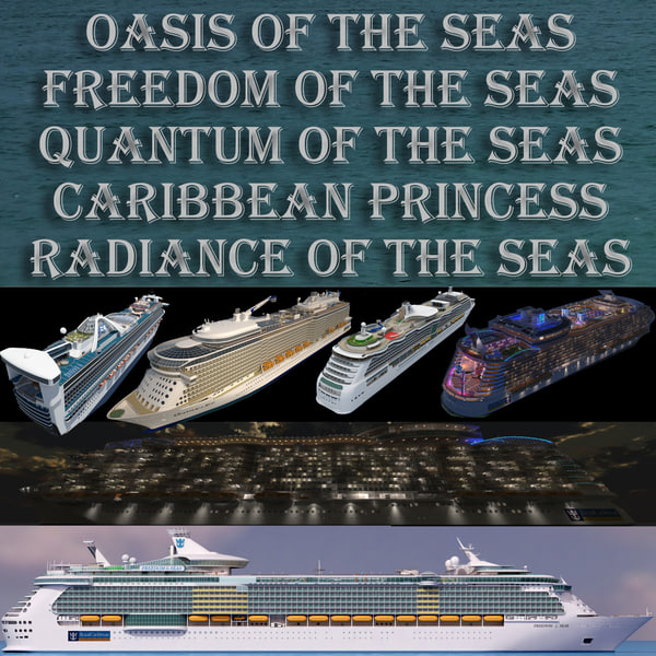 3d 5 cruiseships