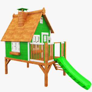 children house 3d max