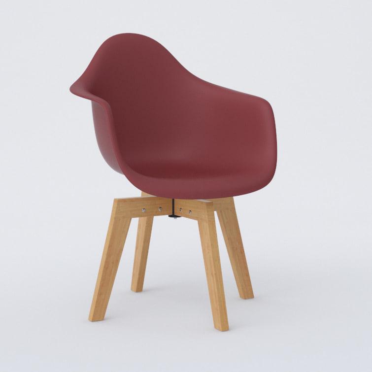 3d cross chair