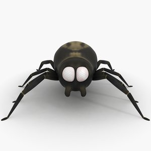 cartoon spider max