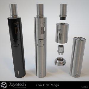 e-cigarettes ego mega 3d model