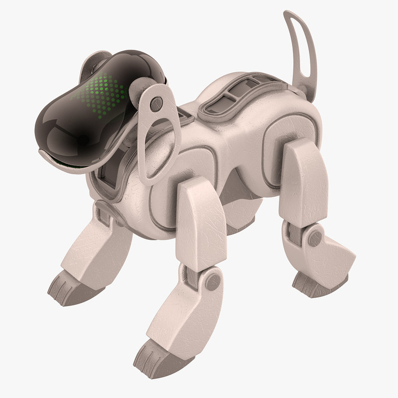 3d aibo dog sony