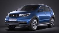 Generic SUV v1 2016 VRAY