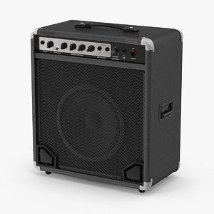 bass amplifier 3d max