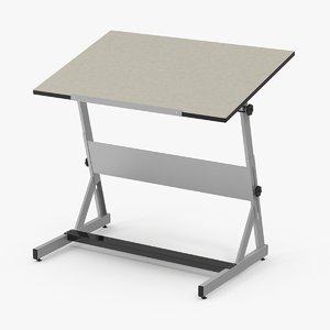 drafting desk 3d max