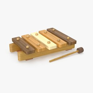max baby wooden xylophone natural