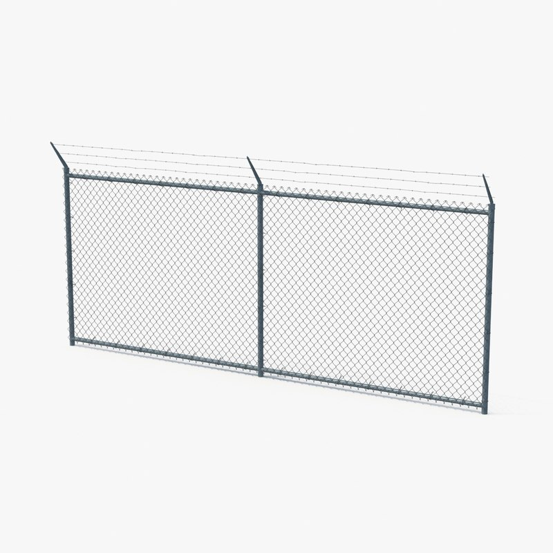 max chain link fence section