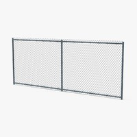 Chain Link Fence Sections Without Barbwire