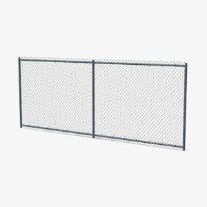 chain link fence sections max