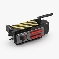 ghostbusters trap closed 3d model